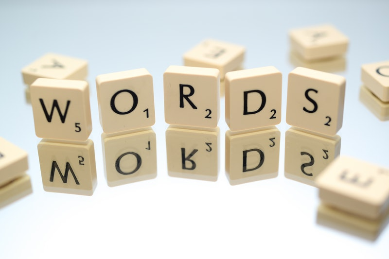 wordsと書かれたパズルピース